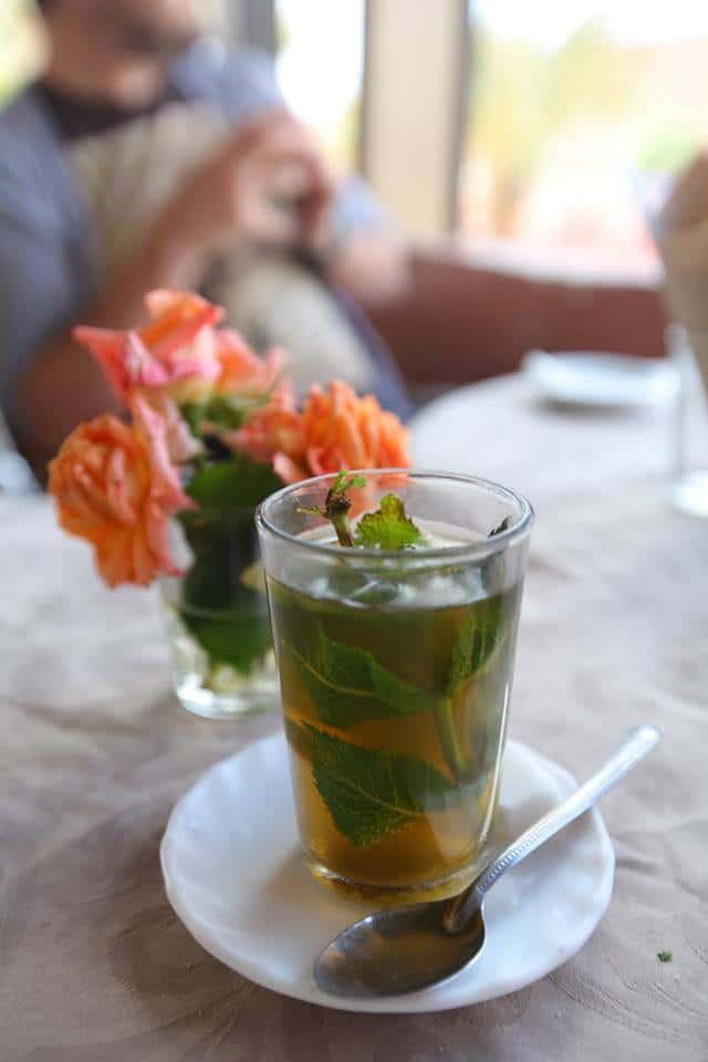 au Maroc, la boisson nationale c'est le thé à la menthe