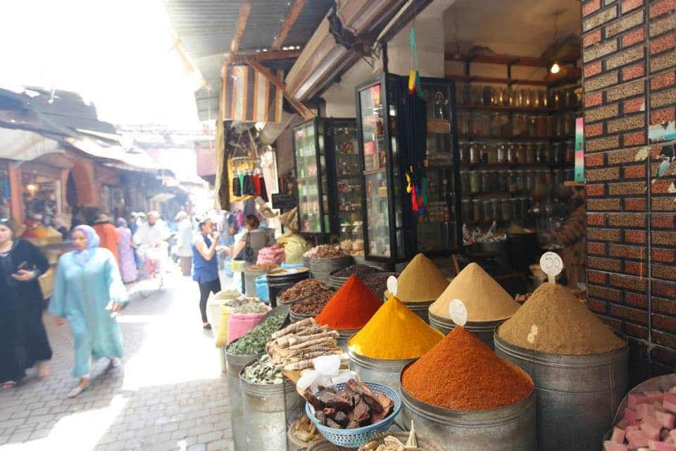 quartier des épices Marrakech Maroc