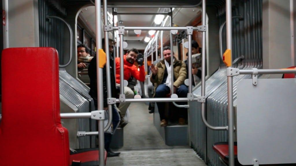 Bus en Iran : à Tabriz en découvre que les femmes et les hommes sont séparés
