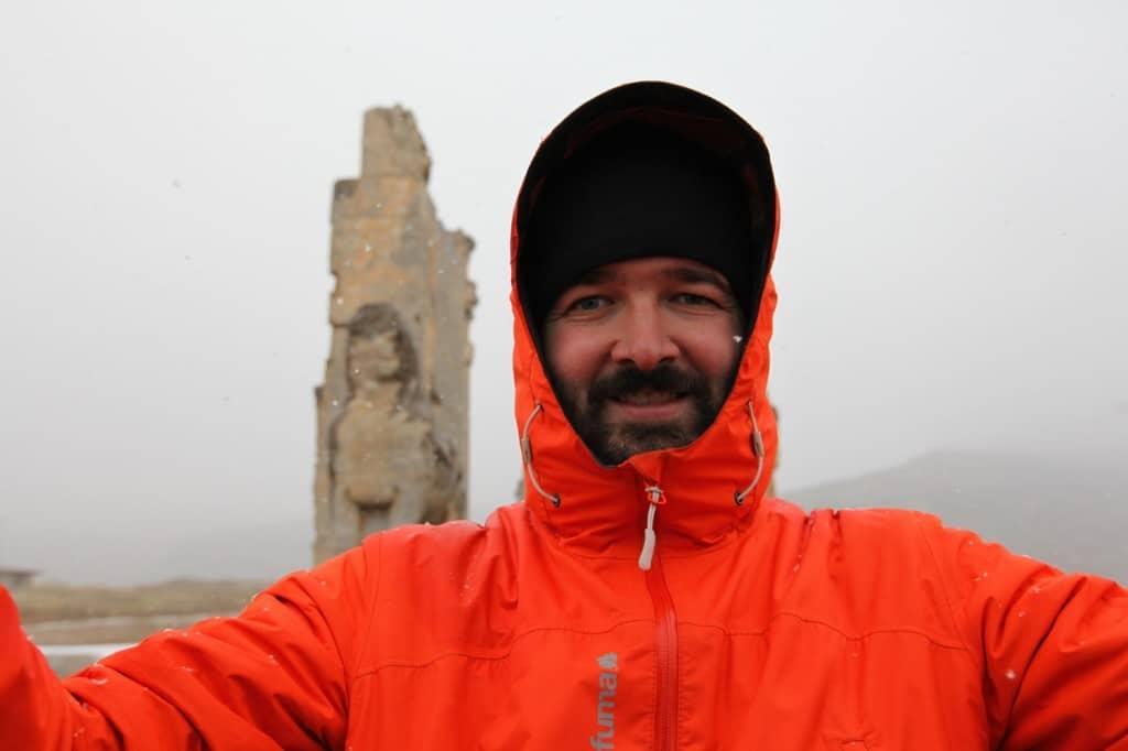 devant Persépolis
