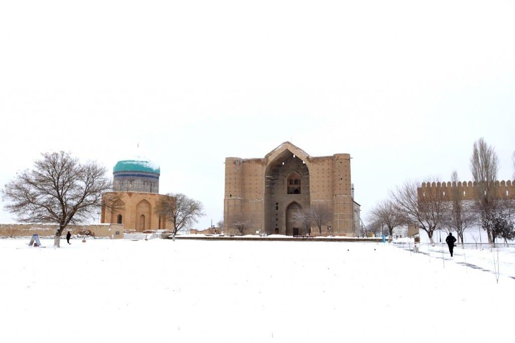le Turkestan est le monument le plus célèbre du Kazakhstan