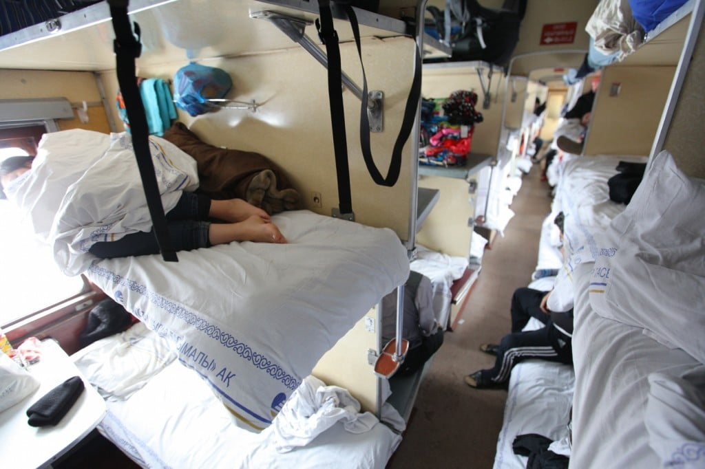 train dortoir Kazakhstan