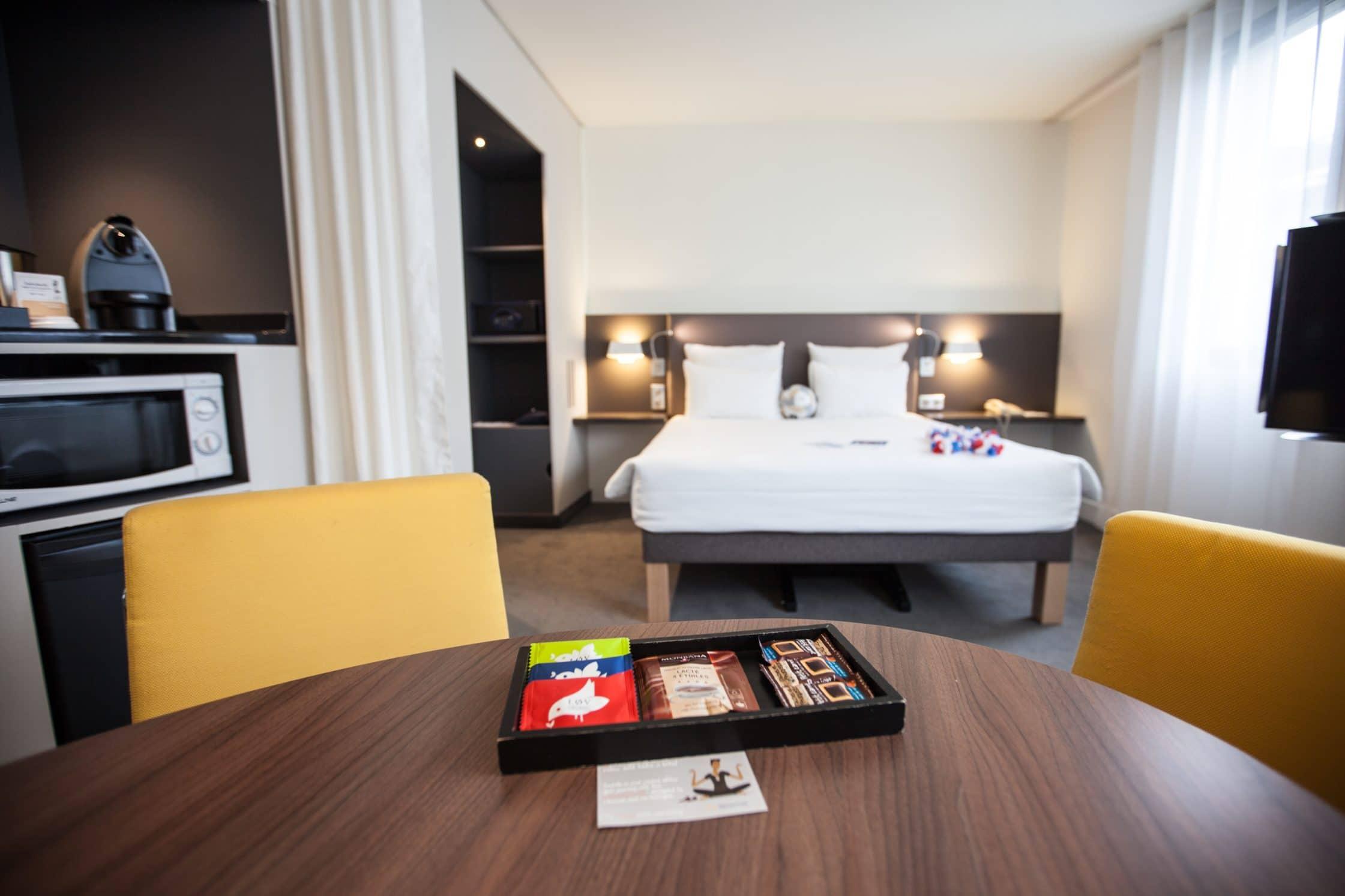 Chambre Novotel Suites Stade de France