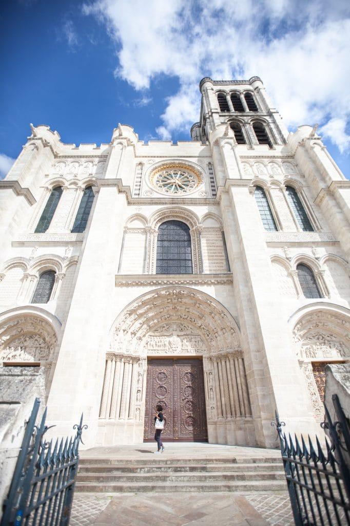 Facade Basilique Saint-Denis