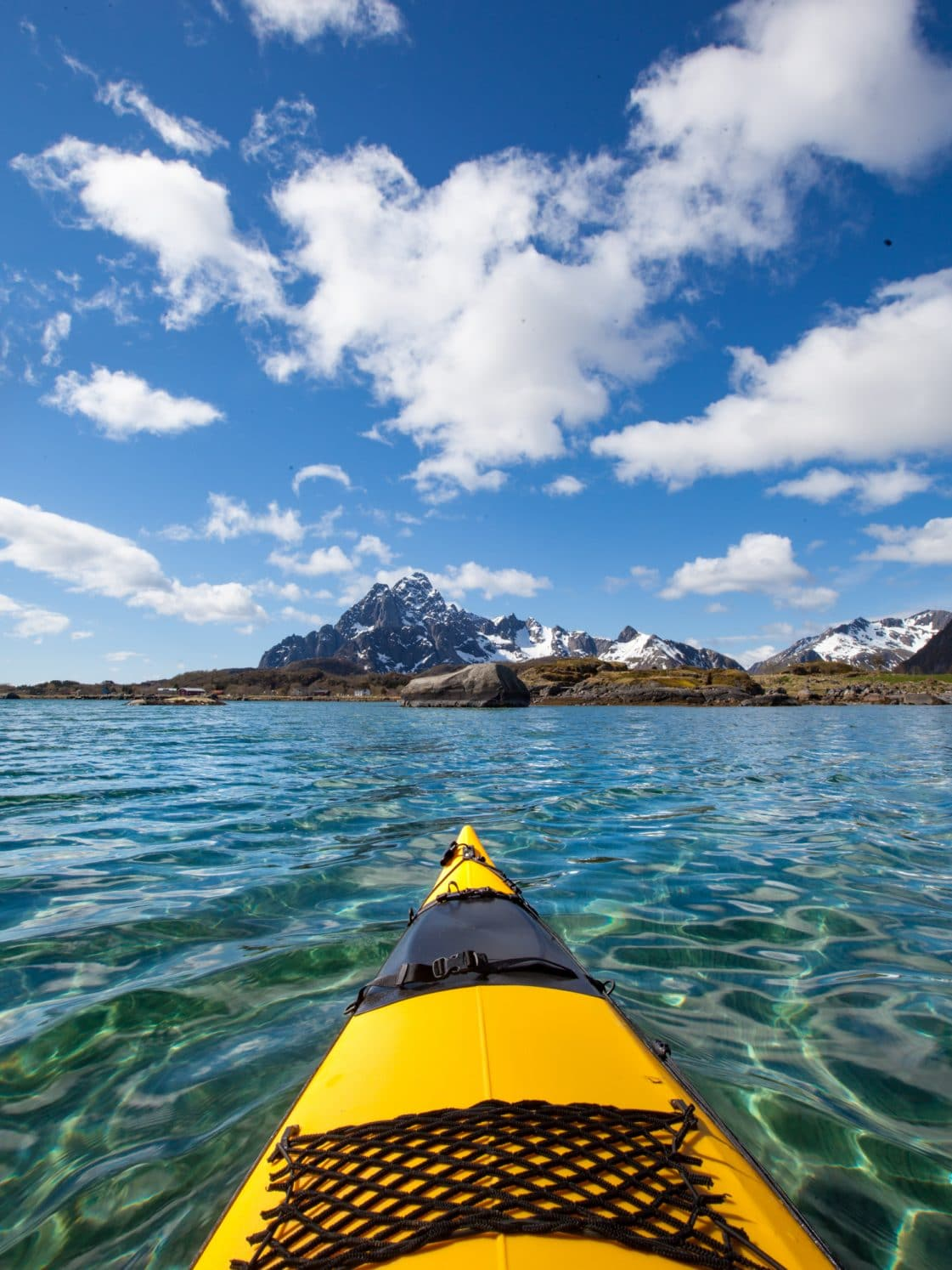 kayak lofoten norvège