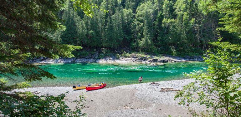 canot rivière bonaventure